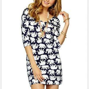 Lilly Pulitzer Christie Tusk Elephant Dress